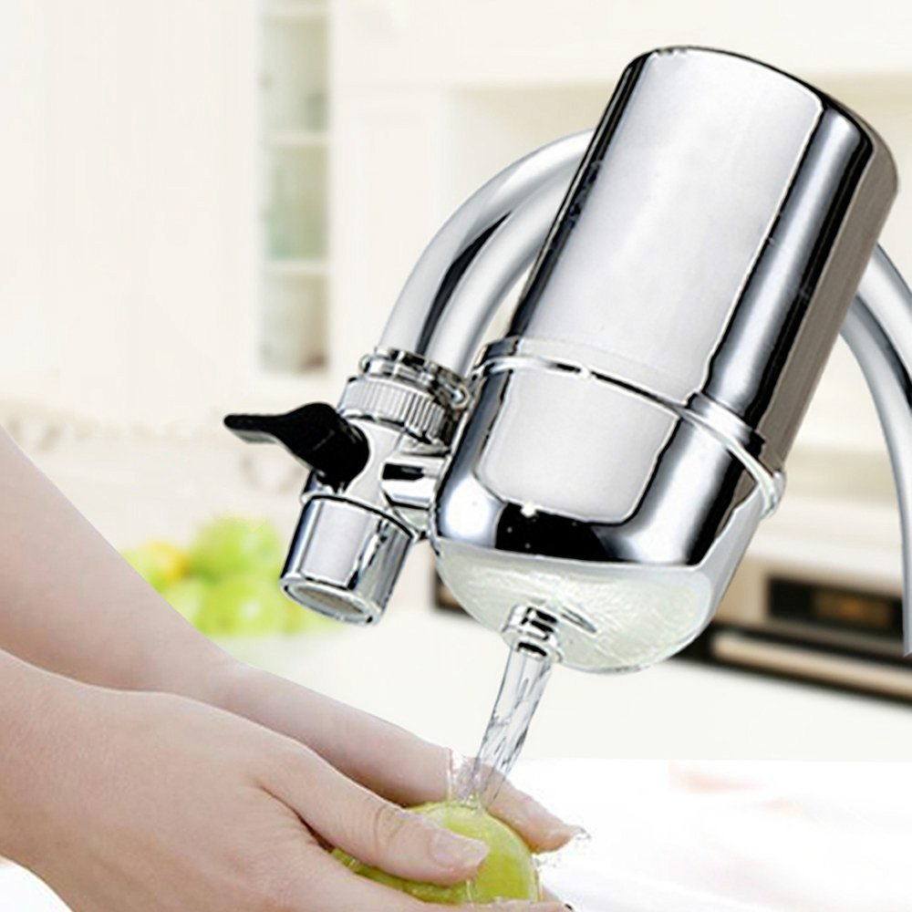 Amazon.com: Gracety Tap Water Filter Faucet Chrome: Kitchen & Dining