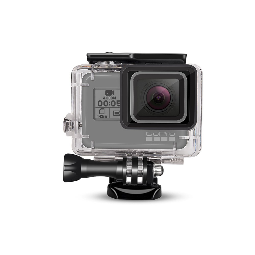 DECADE Waterproof Case for GoPro Hero(2018)/7/6/5 Black,GoPro Dive Housing Shell with Bracket Accessories by decade