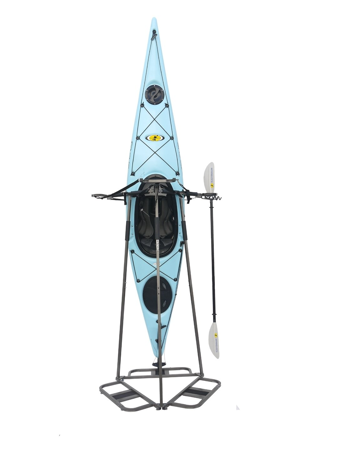 Glacik Vertical Storage Rack for 3 Kayak or 6 SUP Paddle Boards by SPAREHAND