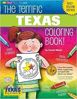 Amazon.com: The Terrific Texas Coloring Book! (Texas Experience ...
