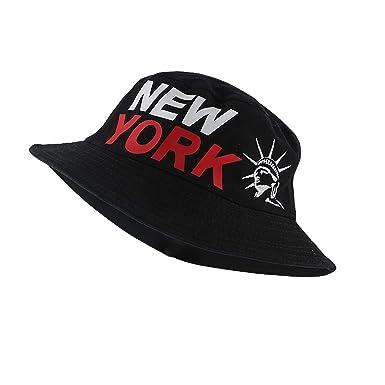 815da12e89d Fashion Men Adult Dome New York Fishing Hat Men s Casual Bucket Hats Unisex  Cotton Summer Fisherman