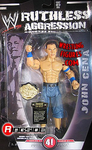 WWE Wrestling Ruthless Aggression Series 41 Action Figure John Cena by WWE