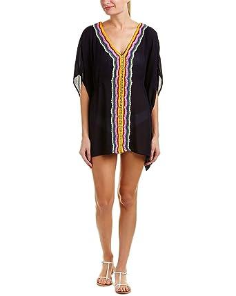 c9d93572c56b9 Amazon.com: Nanette Lepore Women's Peace & Love Caftan Cover-up ...