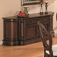 Coaster Home Furnishings 101034B Traditional Buffet, Dark Cherry