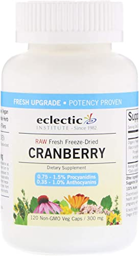 Cranberry 300mg Freeze-Dried – 120 – VegCap