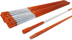 The ROP Shop Pack of 400 Walkway Stakes 48 inches, 5/16 inch for Lawn, Yard, Grass Driveway