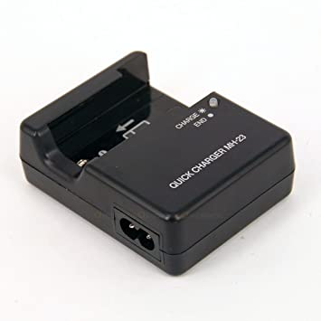 Cargador de Baterías para Cámaras Digitales Battery Charger for NIkon Digital Cameras Coolpix D40 D40X D60 D5000 D3000 / Reemplazo para Nikon Charger ...