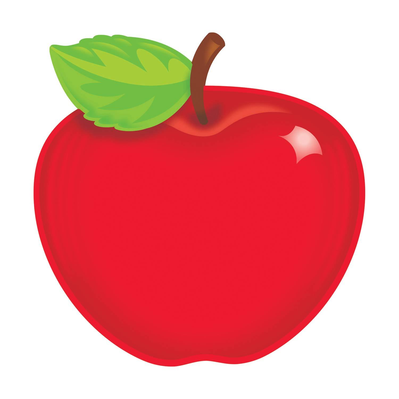 TREND enterprises, Inc. T-10071BN Shiny Red Apple Classic Accents, 36 Per Pack, 6 Packs by TREND Enterprises