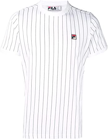 Amazon.com: Fila - Camiseta para hombre, color blanco: Clothing