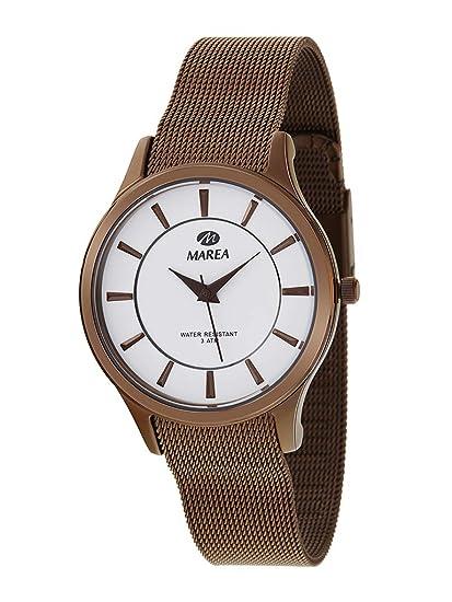 Marea B54110/5, Reloj de mujer Marea con correa metalica marron