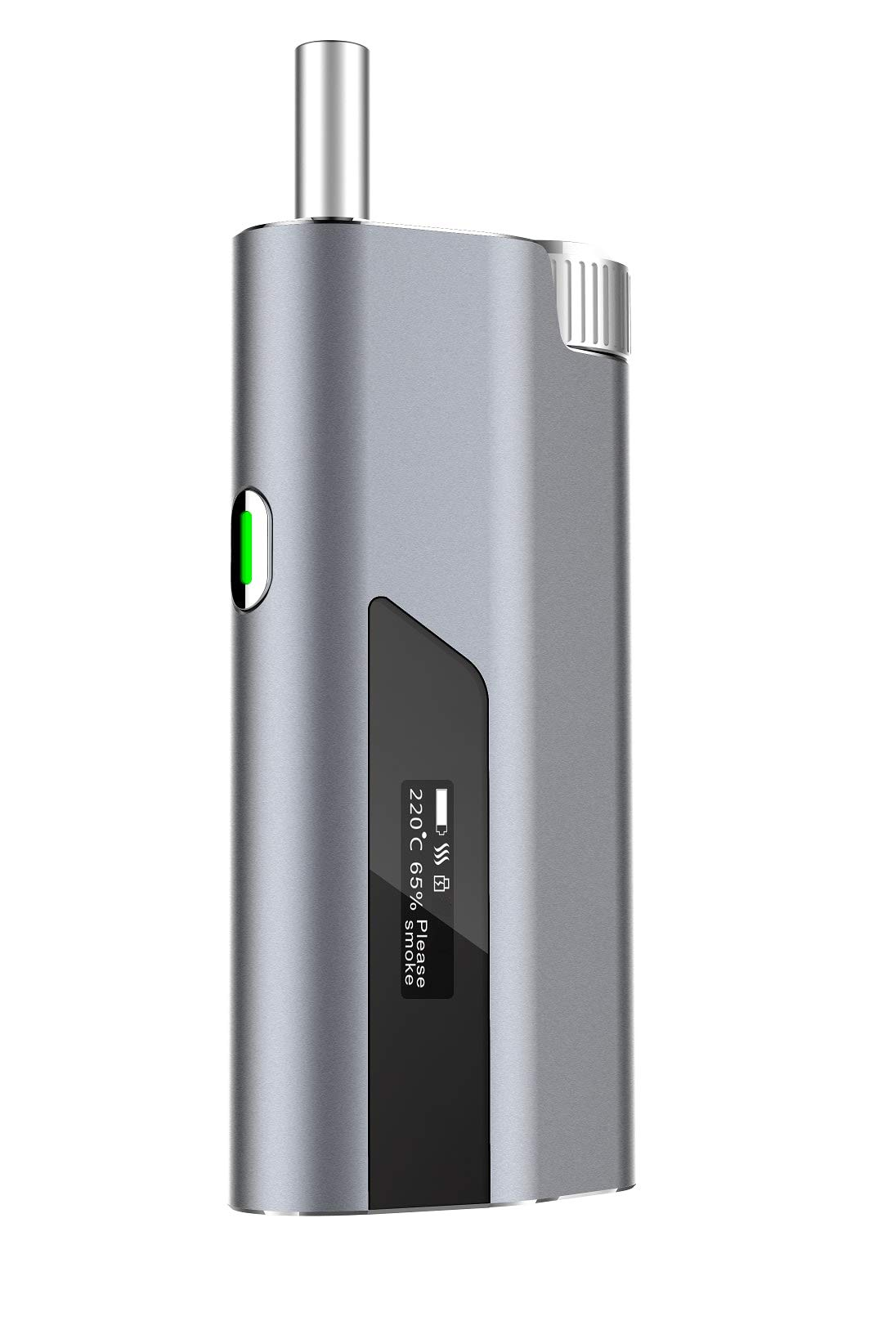 Smoke Your Regular Cigarettes with -74% Tar with THHIS - Hybrid Heat-Not-Burn System and Electronic Cigarette - Dark Grey