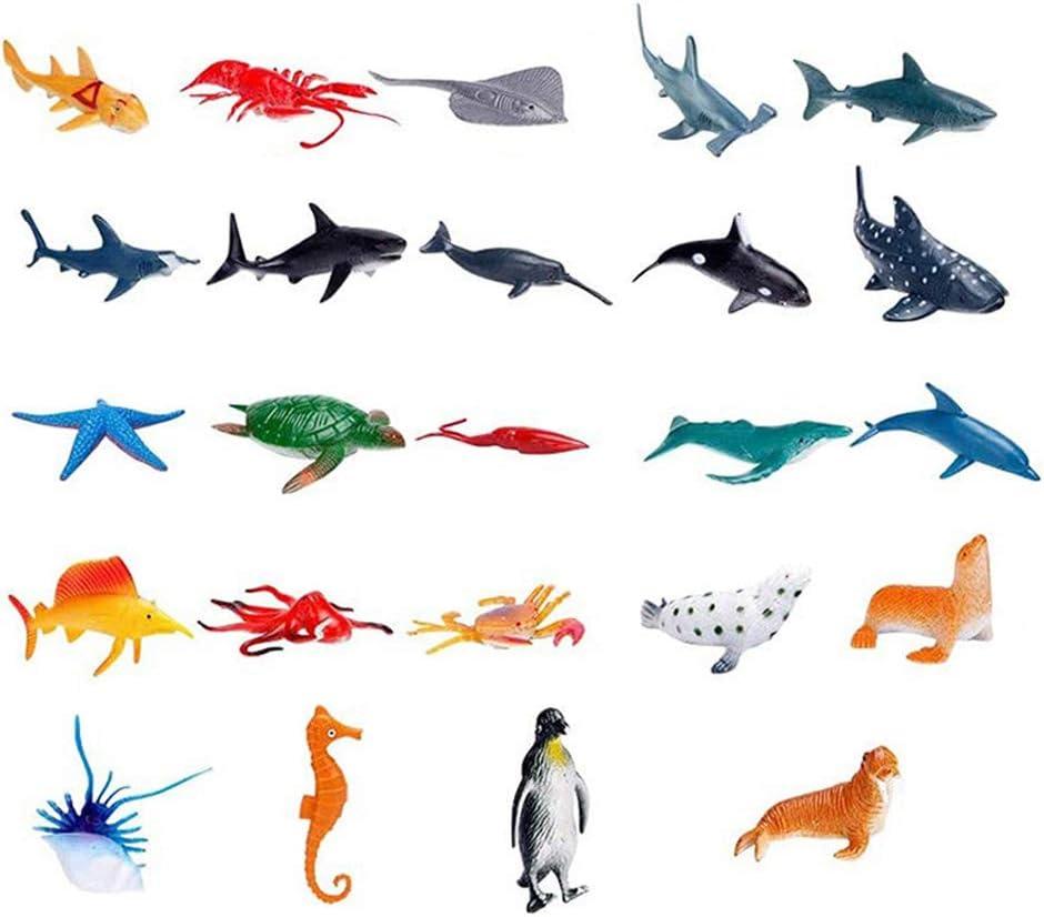 Inhalt DUOCACL 2020 Meerestier Adventskalender Lernspielzeug