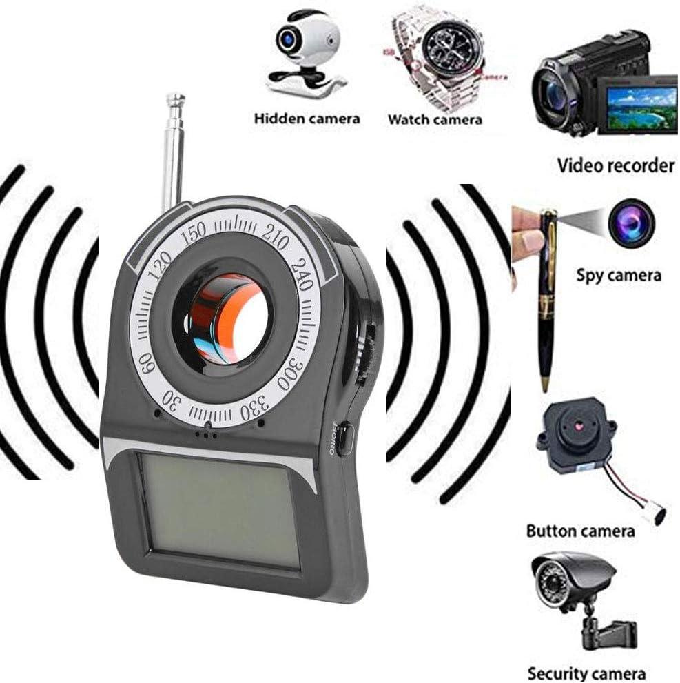 POWERFULM Detector de la cámara indiscreta Anti, Detector de Errores de la señal inalámbrica Privacidad Protector de la señal GPS perseguidor del buscador de protección de la privacidad Personal