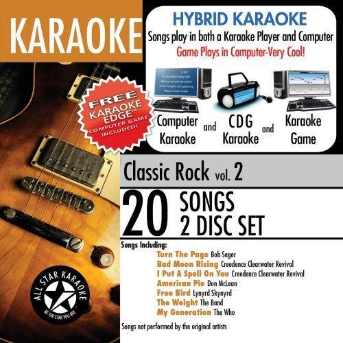 ASK-103 Karaoke: Classic Rock with Karaoke Edge, Cheap Trick, Deep Purple, Elvis Presley, The Who, Lynyrd Skynyrd, Bachman Turner Overdrive by Karaoke (2009) Audio CD