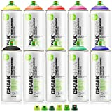 Montana Chalk Spray 10 Colors W/Cap Set