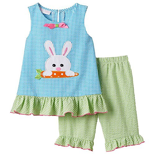 Bonnie Jean Baby Girls Gingham Pant Set (12 Months, - Jean Bonnie Gingham Jeans