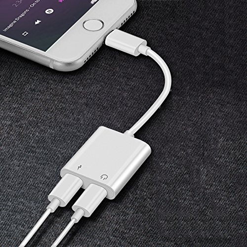 lightning adapter for iphone phone accessories aux audio. Black Bedroom Furniture Sets. Home Design Ideas
