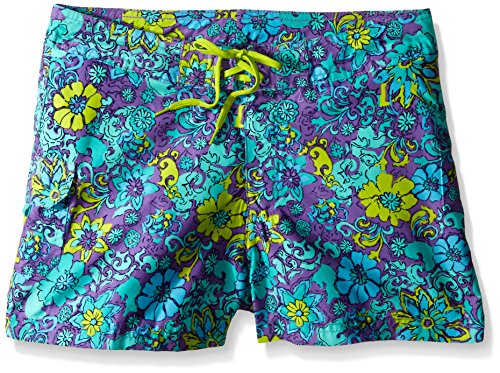 ls' Karlie Boardshorts, Purple, Small (4) ()