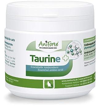 Taurina para Gatos 100% Natural (100gr) | AniForte: Amazon.es: Productos para mascotas