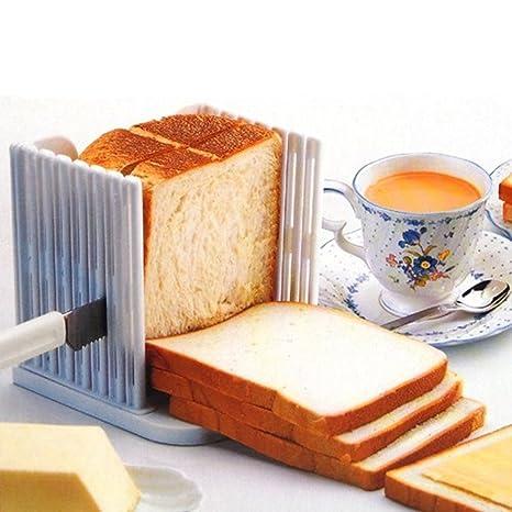 StillCool cocina Pan máquina de cortar rebanar pan cortador corte corta Guía de herramienta de la