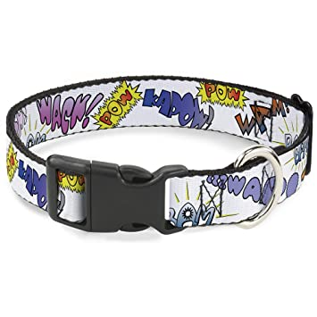 da69029d34bd8 Amazon.com : Buckle Down Cat Collar Breakaway Sound Effects White ...