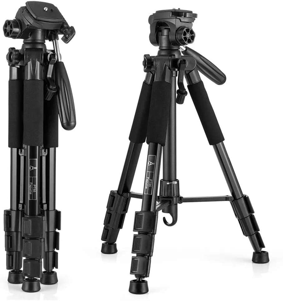 Dygzh Tripod Scalable Tripod Aluminum Platen Standard 1//4 Inch Screws Holding Photo Camera Tripod Color : Photo Color, Size : One Size