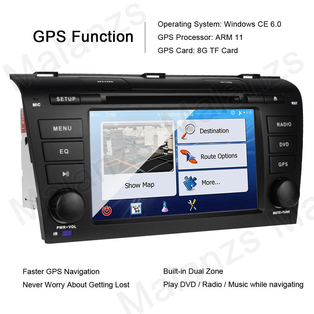 Mazda 3 Service Manual: Car Navigation Unit RemovalInstallation
