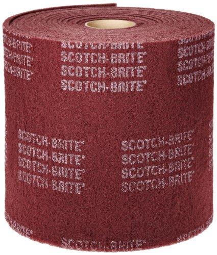 Scotch-Brite(TM) Clean and Finish Roll, Aluminum Oxide, 12 Width x 30' Length, Very Fine Grit (Pack of 1) by Scotch-Brite