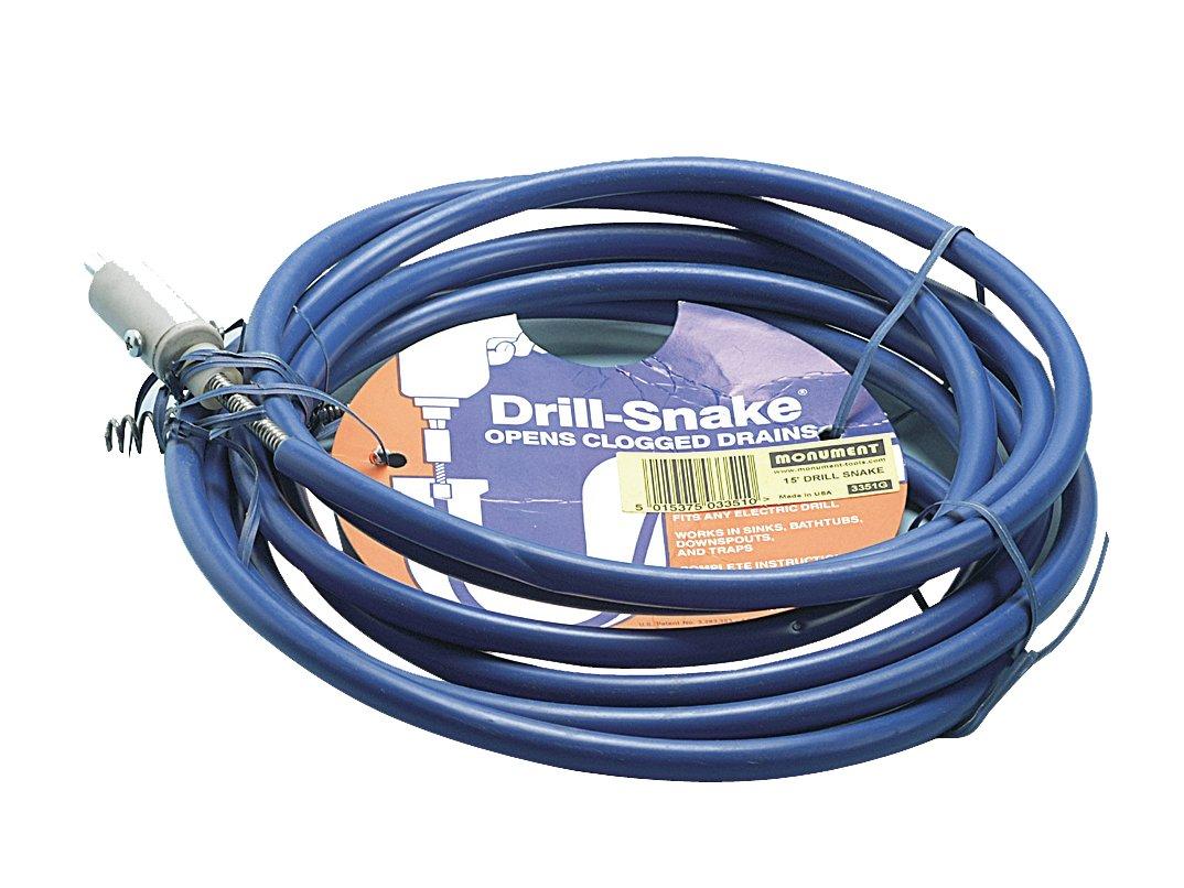 Drill Snake Drain Auger Gen. Wire Spring MON3351-TB