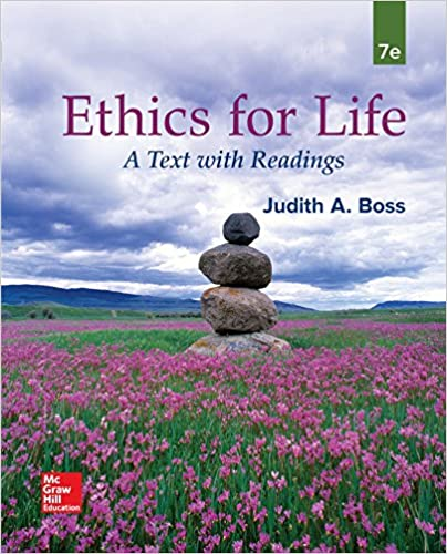 ethics for life a text with readings 7th edition