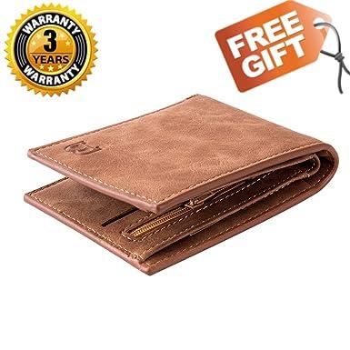Amazon.com: Para hombre portafolios de piel portafolios de ...