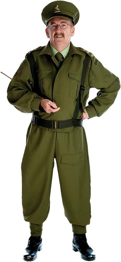 Fun Shack Verde Soldado de Guardia Doméstica Disfraz para Hombres ...