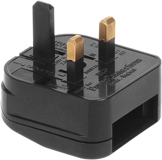 Maclean MCE71 - Adaptador para Enchufe Europeo a UK Inglés Reino Unido 5 Amps: Amazon.es: Electrónica