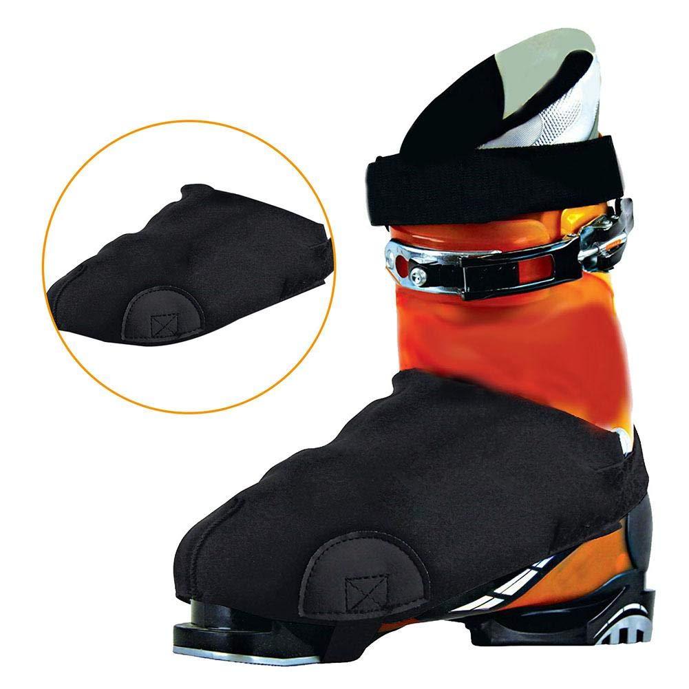 Yunt Cubierta para Zapatillas de esquí , Antideslizante, tracció n Anti-congelació n, Cubierta de Botas para Esquiar, Hielo, Nieve, Senderismo, Escalada, montañ a, expedició n tracción Anti-congelación montaña expedición