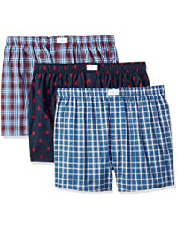 Men's 3 Pack Cotton Classics Woven Boxers