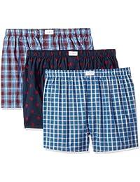Men's 3 Pack Cotton Classics Woven Boxers