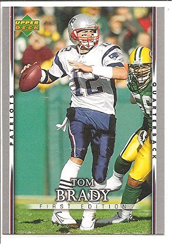 Tom Brady New England Patriots 2007 Upper Deck First Edition Football Card #56
