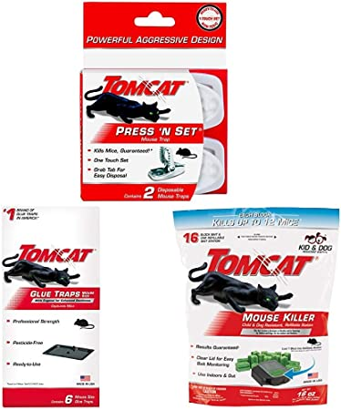 Tomcat Press /'N Set Mouse Trap 2-Pack