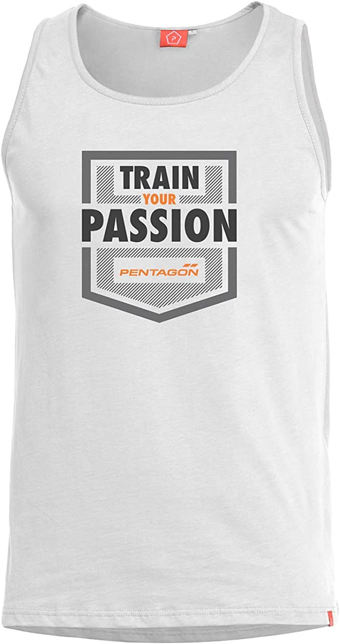 PENTAGON Hombre Astir Camiseta sin Mangas Train Your Passion ...