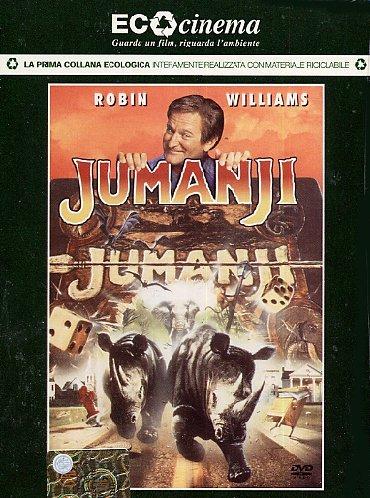 Jumanji (Eco Cinema) [Italia] [DVD]: Amazon.es: Kirsten Dunst, James Horner, Bonnie Hunt, Robin Williams, Joe Johnston, Kirsten Dunst, James Horner: Cine y Series TV