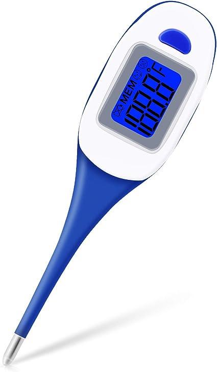 term/ómetro Digital LCD Oral TIAS Term/ómetro Digital term/ómetro de Alta precisi/ón para lecturas precisas y r/ápidas para ni/ños