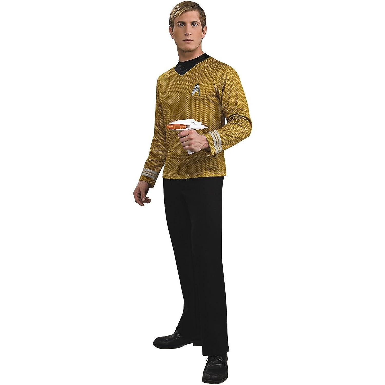 Amazon.com: Adult Star Trek Captain Kirk Halloween Costume Adult ...