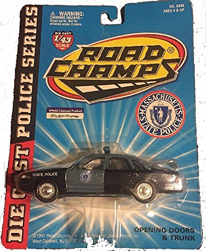 (1/43 Road Champs 1997 Ford Crown Victoria Police car