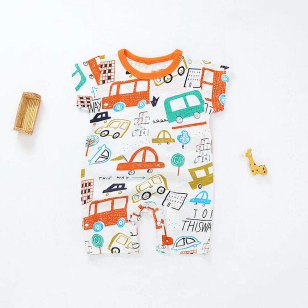 Enrique Herndon Boy Girl Cartoon Printing Cotton Rompers Costumes