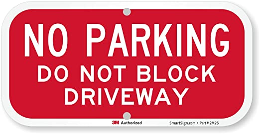 DO NOT BLOCK GATE 24 HOURS ACCESS REQUIRED VARIOUS SIGN /& STICKER OPTIONS