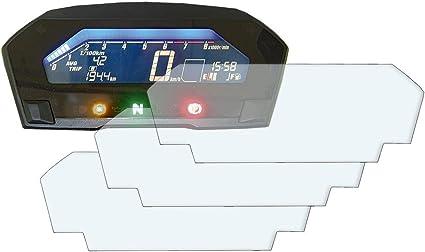 Nc750x 2016 Displayschutzfolie Tachoschutzfolie 3 X Entspiegelt Auto