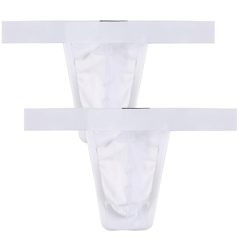 Avidlove Men Underwear Cotton Thong Bikinis 2 Pack G-string #AL002559