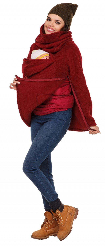 Zeta Ville - Maternité Pull molletonné Bébé écharpe de Portage - Femme -  030c carrier top 030. Agrandir l image f01da5925a0