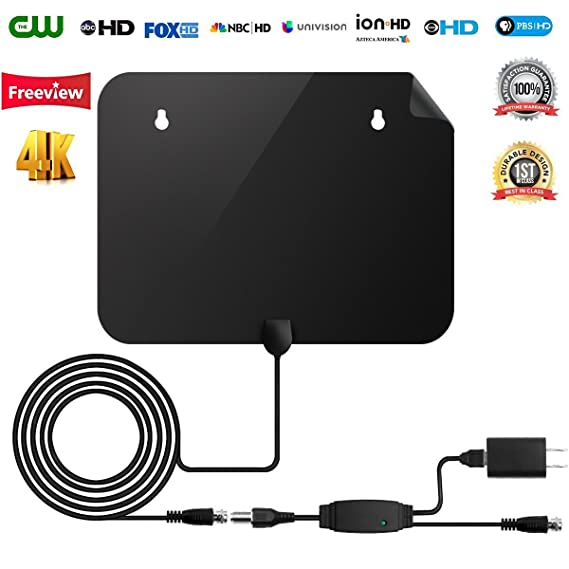 Review HDTV Antenna【2018 New Version】