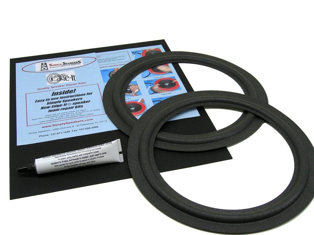 MCS Speaker Foam Edge Repair Replacement Kit, 10'', FSK-10F